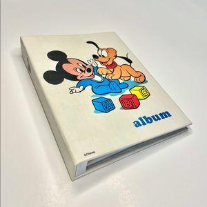 Vintage Disney Baby Photo Album